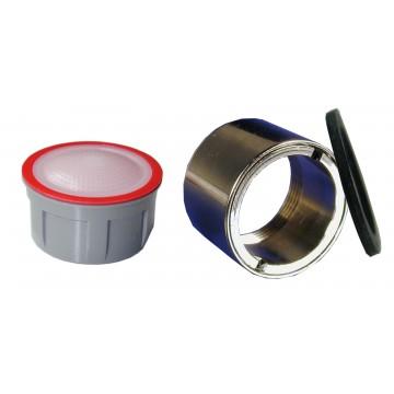 Mousseur sans air 4,5 lit - F22x100 Antivol - Eco 70% - Bague Femelle - Anticalcaire