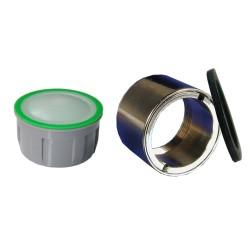 Mousseur sans air 6 litres - F22x100 Antivol  - Eco 60% - Bague Femelle - Anticalcaire