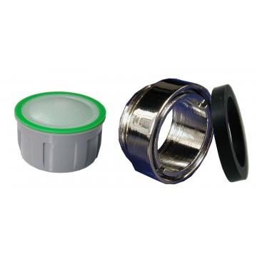 Mousseur sans air 6 litres - M24x100 Antivol - Eco 60% - Bague mâle - Anticalcaire