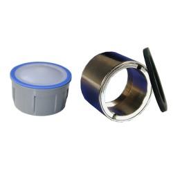Mousseur sans air 8 litres - F22x100 Antivol - Eco 47% - Bague Femelle - Anticalcaire