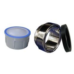 Mousseur sans air 8 litres - M24x100 Antivol - Eco 47% - Bague mâle - Anticalcaire