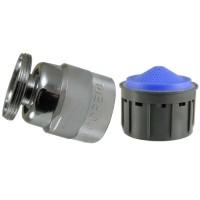 Aérateur Baignoire Anticalcaire sur Rotule - M28x100 - Aéré - Mâle