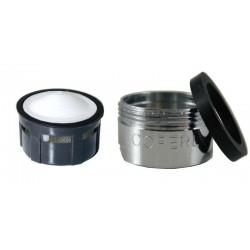 Mousseur aérateur M24x100 - Mâle - Grille inox - NF EN 246