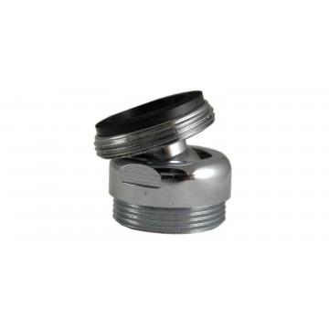 Rotule aérateur M22x100 Chrome orientable 360° - M22 - Laiton