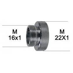 Adaptateur raccord Laiton - M16x100 à M22x100