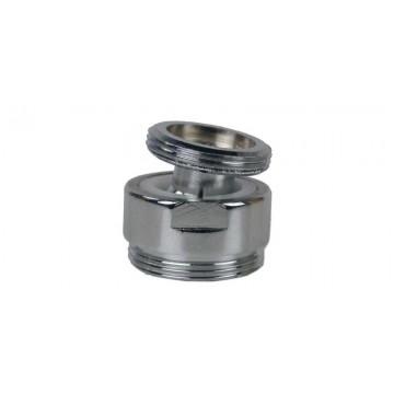 Rotule aérateur M20x100 Chrome orientable 360° - M22 - Laiton