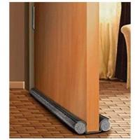 Isolant bas de porte double boudin (liaison tissu) - 95 cm Ø 3.5 cm
