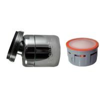 Mousseur orientable 2,5 litres M24x100 - Eco 70% - Aéré - Rotule mâle