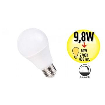 Ampoule à Led Globe Culot E27 98w Equivalence 60w Dimmable 2700k A