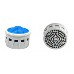 Mousseur robinet aéré Ultraform - 9 litres/min. - 22/24x100 Recharge - Eco 40%