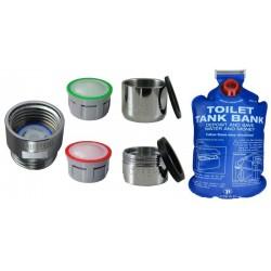 Kit d'économie d'eau - KADECO Basic 1 WC - Sachet
