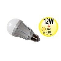 Ampoule à LED Globe - Culot E27 - 12W Equivalence 60W - 2700K - A++