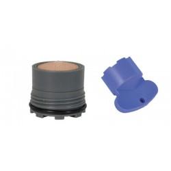 Mousseur INVISIBLE 6 litres M16.5x100 + Clef - Filetage intégré - Anticalcaire