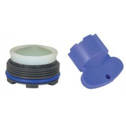 Mousseur INVISIBLE 7 litres M24x100 + Clef - Filetage intégré - Anticalcaire