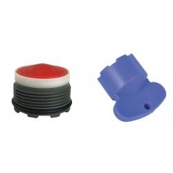 Mousseur INVISIBLE 6 litres M18,5x100 + Clef - Filetage intégré - Anticalcaire