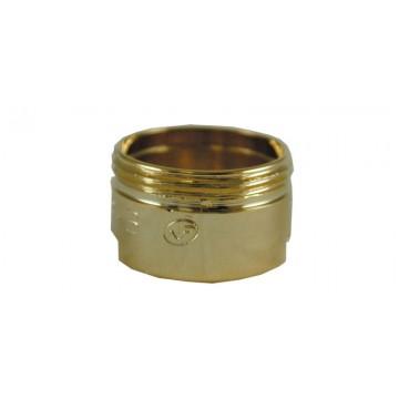 Bague robinet - Baignoire - Or - M28x100 Mâle