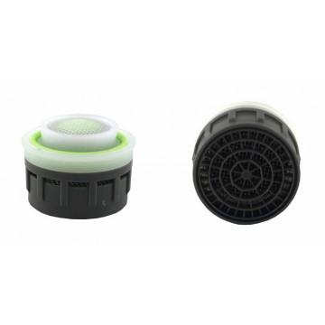 Mousseur régulateur 5,7 litres/min. O'ring - Aéré - Anticalcaire - (1,5 gpm) - 22/24x100 Recharge