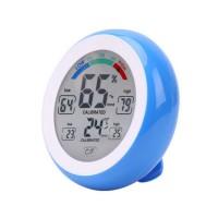 Thermomètre / Hygromètre Digital 10 fonctions - Temp. de -0° à +50°C - Humidité 20 à 95%RH - Bleu